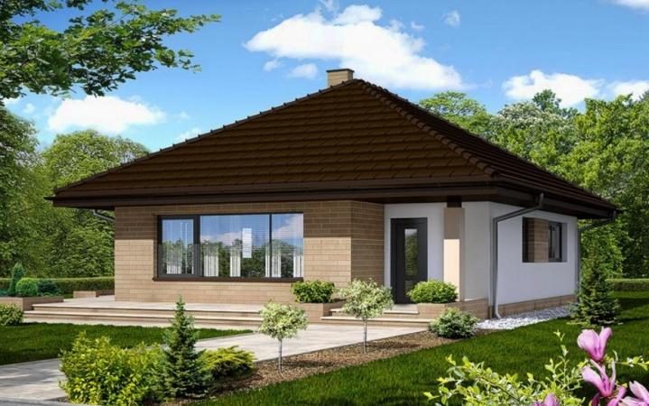 Домик построенный по энергосберегающим технологиям