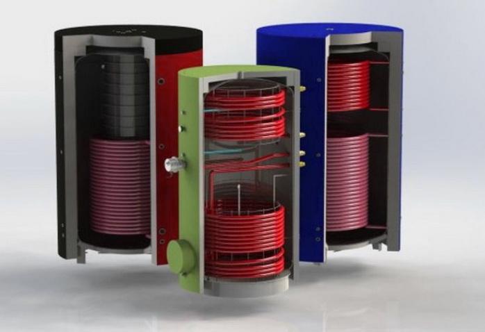 Различные буферные емкости для отопления