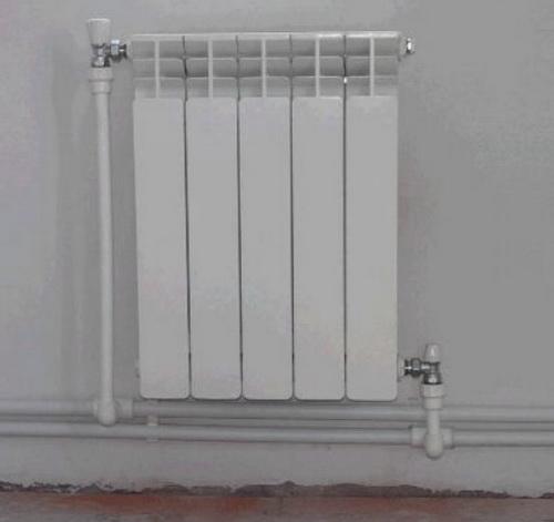Обвязка радиаторов выполняется по правилам