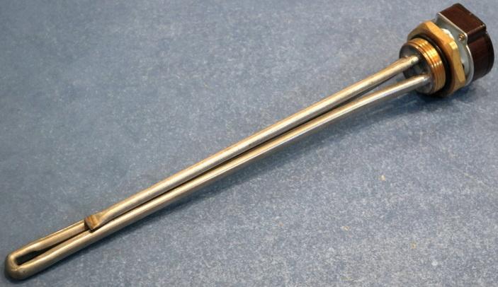 Длинный ТЭН применяется  в радиаторах отопления