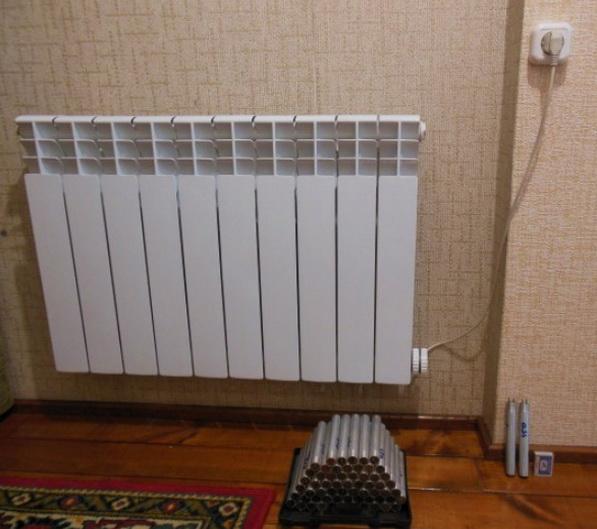 Тэн в радиатор отопления своими руками