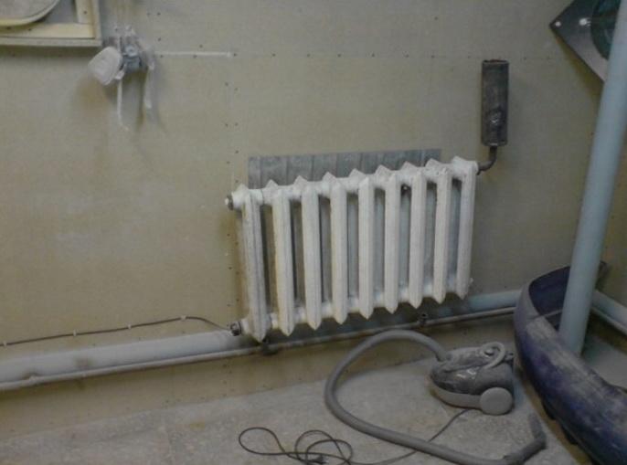 Самодельная система отоплния из одного радиатора с тенами