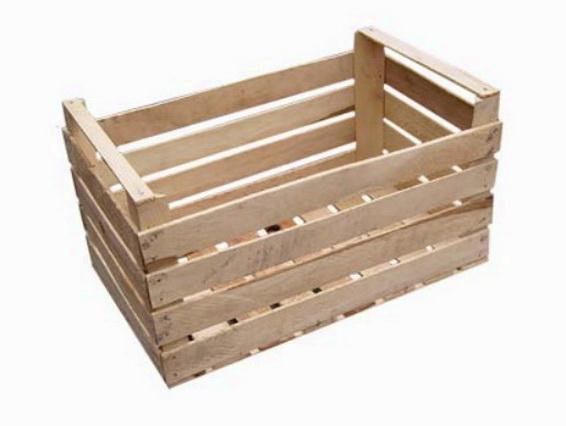 Будка делается из простого ящика