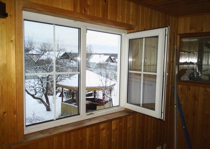 Современные окна и двери намного увеличивают теплосбережение в доме