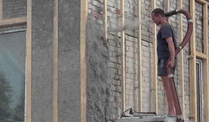 Современные методы утепления фасада