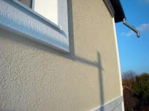 Стены со штукатуркой могут быть теплоизолированы
