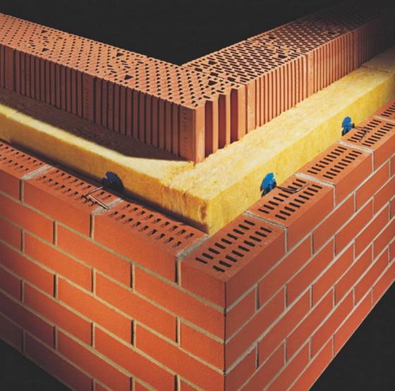 Утепление стены из керамических блоков