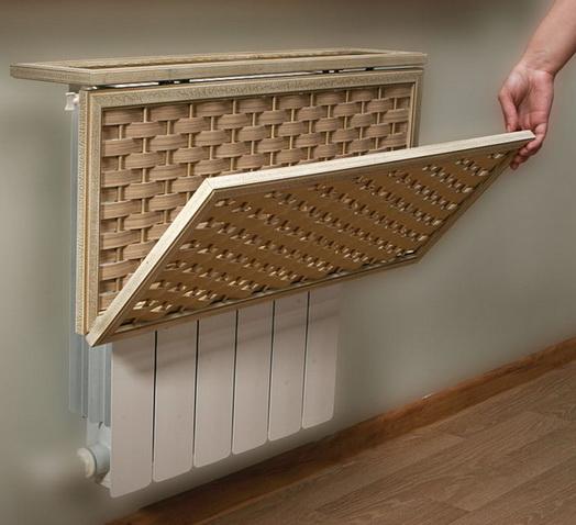 Декор, щитки для радиаторов