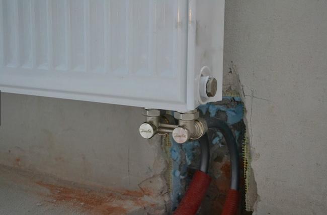 Подключение радиатора снизу