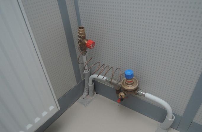Вентили в системе отопления