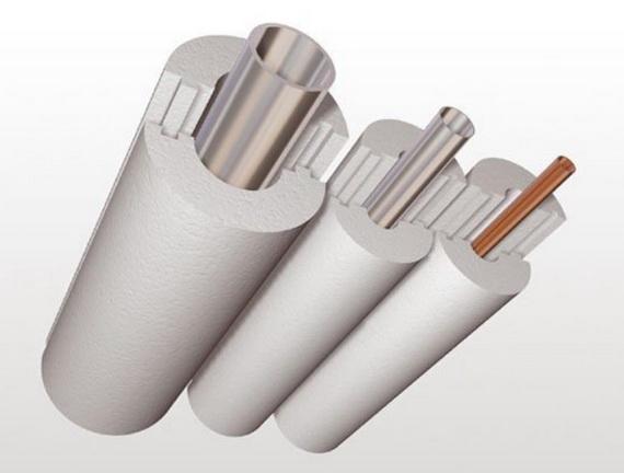 Защита труб отопления с помощью утеплителя