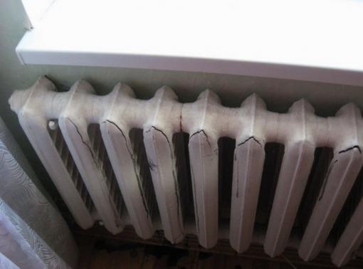 Замораживание системы отопления