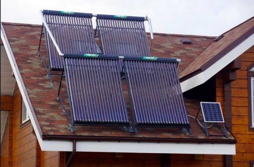 Трубчатые солнечные коллектора
