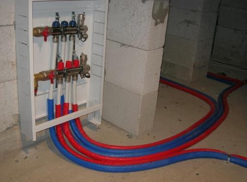 Теплоизоляция трубопровода под полом