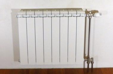Обычный радиатор с различным подключением