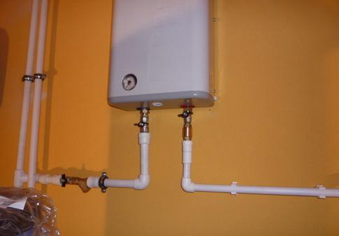 Электрокотел монтируется на стене