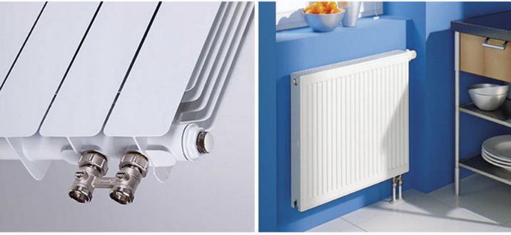 Радиаторы с нижним подключением в интерьере