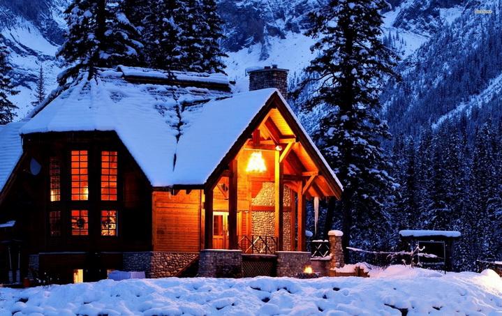 Теплый дом в холодном климате