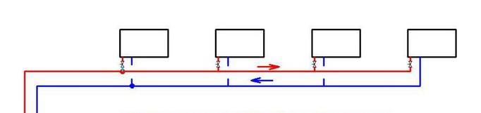 Схема тупиковая - часта применяется