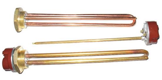 Тены используются в электрокотлах
