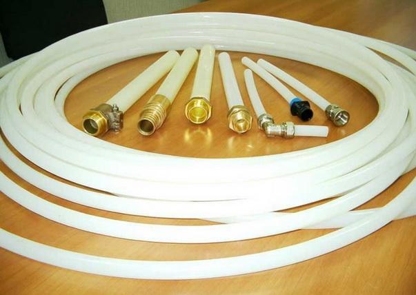 Трубы PEX с фитингами