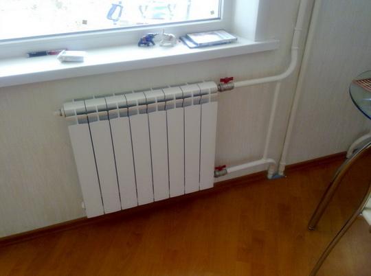 В квартире должно быть тепло