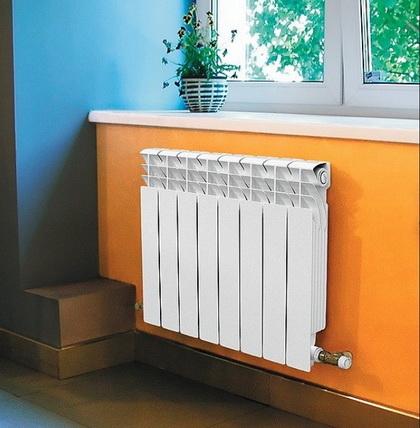 особенные радиаторы в интерьере помещений