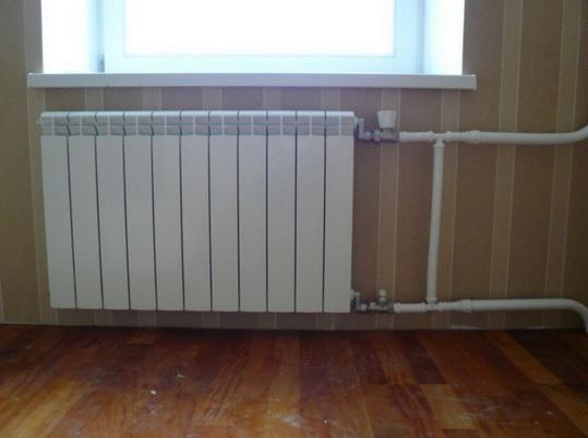 Новый радиатор в квартире