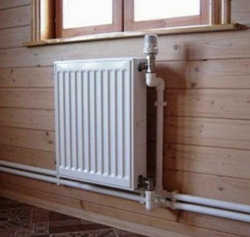 Радиатор с термоголовкой и балансировочным клапаном