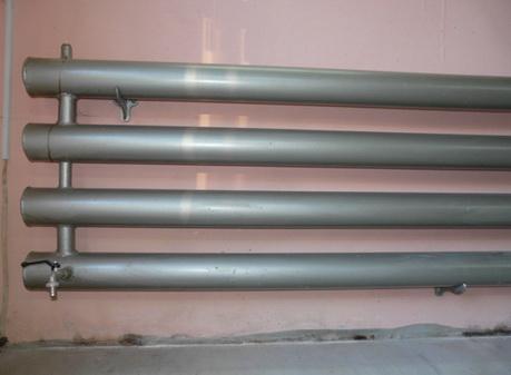 Самодельный радиатор может быть окрашен