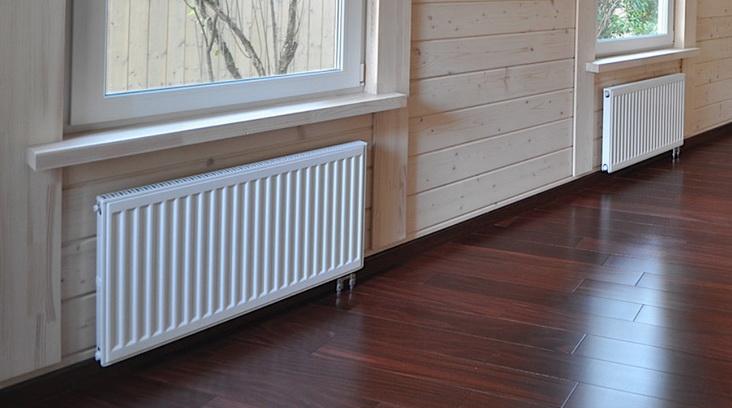 Система отопления в доме из труб и радиаторов
