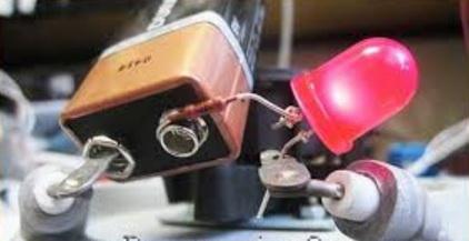 Проверка тена батарейкой