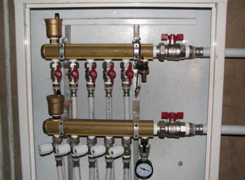 Подключение радиаторов по лучевой