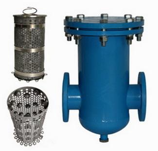 фланцевый большой фильтр в отоплении