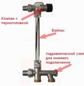 где балансировка на радиаторе
