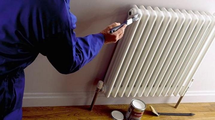 Краска для радиаторов, как подбирается и применяется, процесс окраски