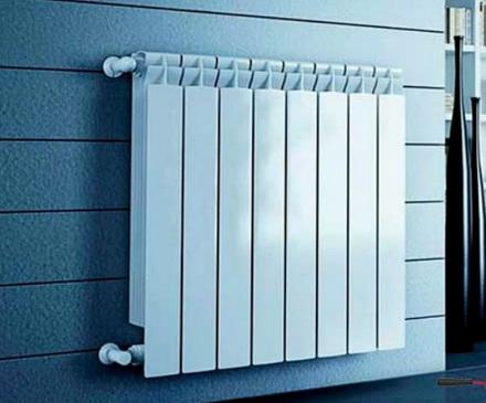 радиатор из нескольких секций