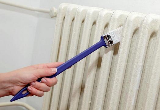 окрашивание радиаторов термостойкой краской