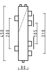 ширина и толщина и высота гидрострелки