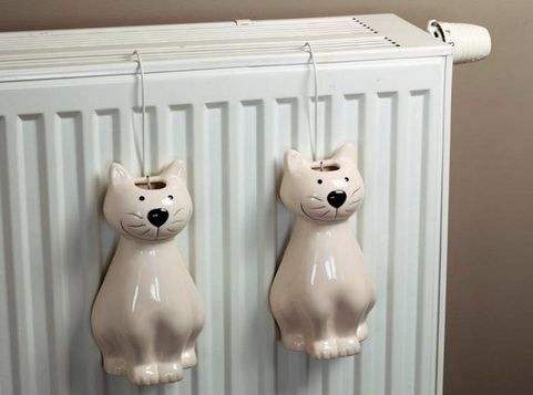 Увлажнители на радиаторах