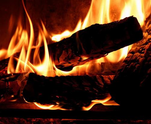 горение дров сколько энергии