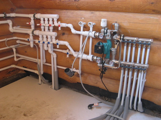 Гидравлический узел в доме