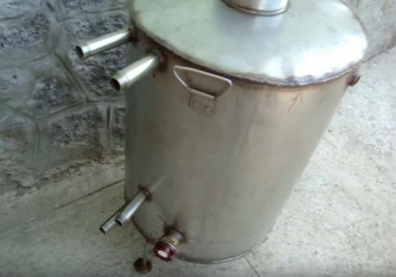Вваривание трубок в бойлер