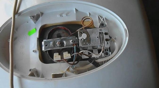типичный ремонт бака аристон
