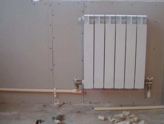 Как подключают радиатор к однотрубной