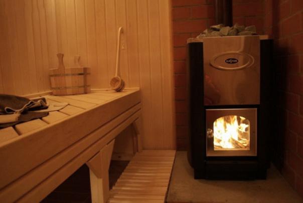 Печка в бане