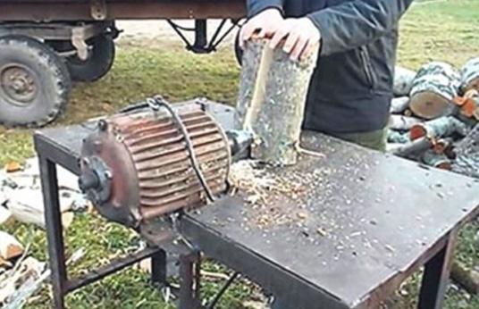 колун с двигателем