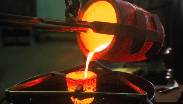 Плавка металла индукцией