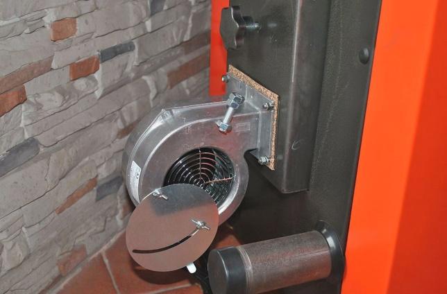 Котел с вентилятором