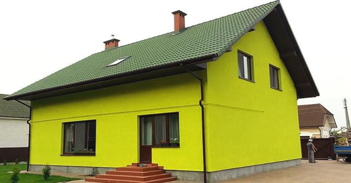 Фасад утепленный пенопластом